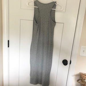 Dresses & Skirts - Grey Knit Bodycon Midi Dress